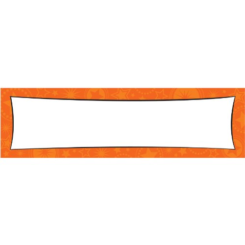 Amscan 129567.05 Giant Sign Banner, 65 x 20 inches, Orange -