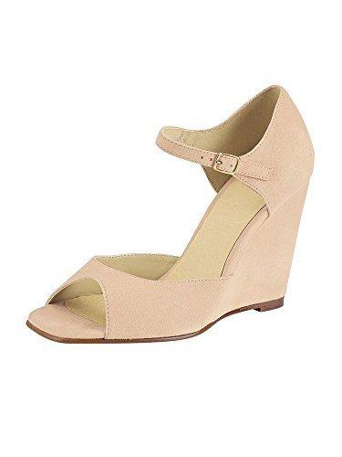 Best Connections Sandalette - Sandalias de vestir de cuero para mujer beige - Mandarin