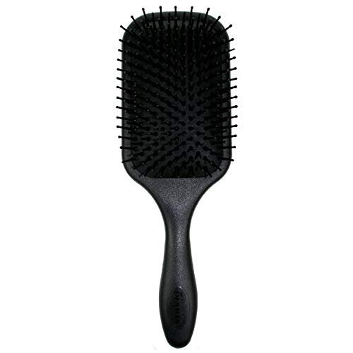 Denman D83 Large Paddle Cushion Hair Brush for Blow-Drying & Detangling - Comfortable Styling, Straightening & Smoothing (Best Denman Brush For Natural Hair)