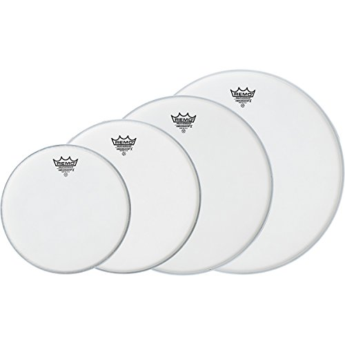 Remo Ambassador X Fusion Drumhead Pack, Buy 3 Get A Free 14