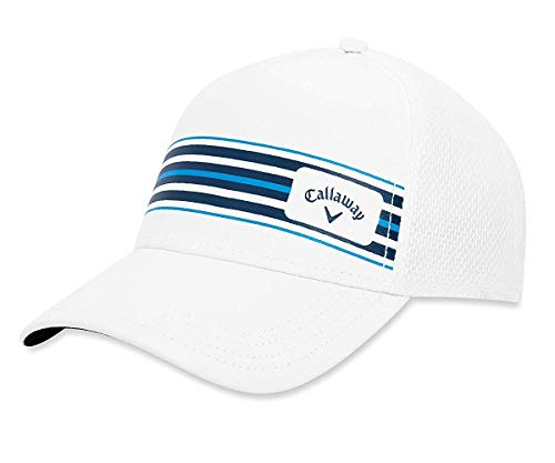 (Callaway Golf 2019 Stripe Mesh Hat,)