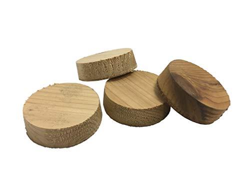 3 Inch Cedar Wood Insulation Plug (Bag of 125) by J&R Products, Inc (Image #1)