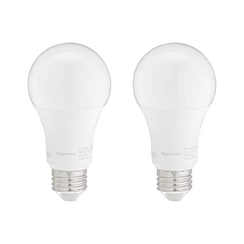 AmazonBasics Non-Dimmable LED Light Bulbs Collection