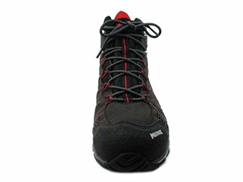Meindl 3986-01, Scarponcini da Camminata ed Escursionismo Uomo Nero