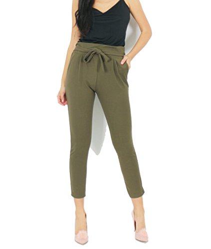 Mujer Caqui Pantalón Fashion 7 Para Road FpWUnw7I