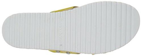 Franco Sarto Women's L-Elina Slide Sandal, Orange Lemon