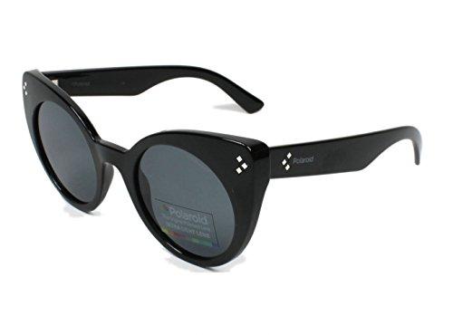 Sunglasses Polaroid Core Pld 4037 /S 0D28 Shiny Black / Y2 gray polarized - Sunglasses 4037
