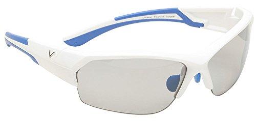 Callaway  Sungear Raptor Golf Sunglasses - Matte White Plastic Frame, Gray - Sun Callaway Glasses