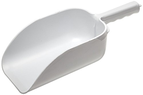 Big Scoop (Co-Rect Plastic Scoop, 64-Ounce, White)