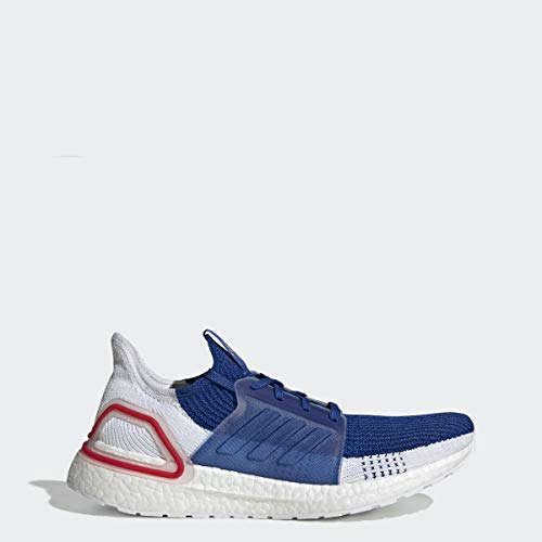 adidas Men's Ultraboost 19 Running Shoe, White/Grey, 11 M US