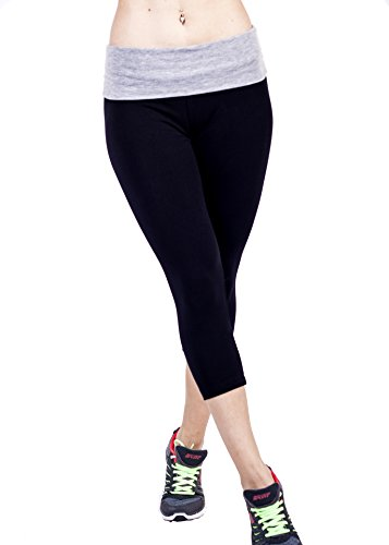 afbf8fed37b01 We Analyzed 4,787 Reviews To Find THE BEST Yoga Pants Juniors Fold Over