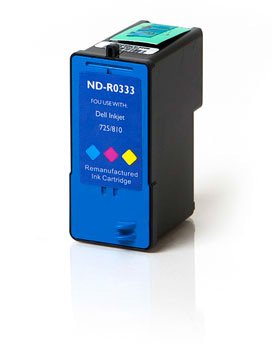 Ink Now Premium Compatible Dell COLOR Ink Jet JF333, Series 6, PG324 for Inkjet 725, 810 printers (Dell Jf333 Colour)