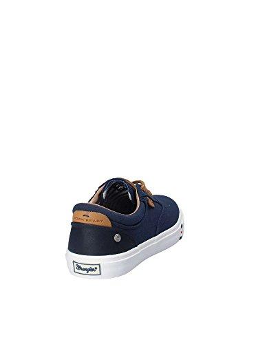 WM181021 Primavera 2018 Blu Estate 45 Scarpe Sneakers Uomo Wrangler EU wqx70tXW