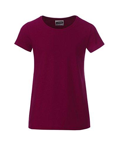 Kids Organic 2store24 Girl shirt Classic vino Coppa Casual T del wEqIfUn7Ex