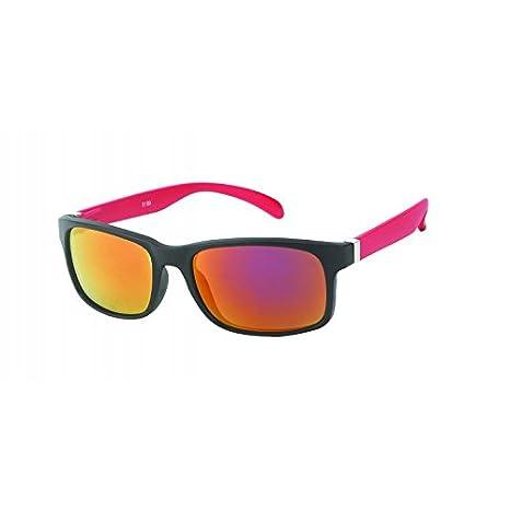 Chic-Net Sonnenbrille Herren verspiegelt 400 UV breit schmal Scharnier bunt Bügel gelb FvRPOWh