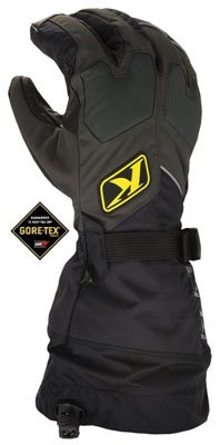 Klim Snowmobile Gloves - Fusion, Black Large