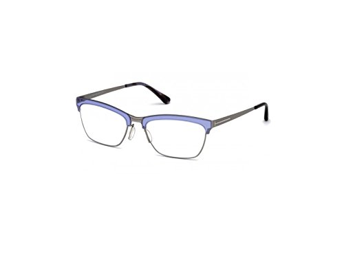 Tom Ford - FT 5392, Cat Eye, metal, women, MATTE RUTHENIUM LILAC(080 D), - Ford Clothing Women Tom