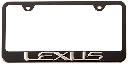 Lexus 3D Polished Stainless Steel License ()