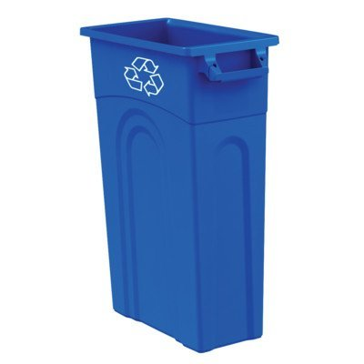 United Solutions TI0033 Highboy Recycling Container, 23 Gallon, 1 Pack, Blue by United Solutions
