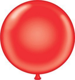 Mayflower 38177 72 Inch Giant Latex Balloon - Red