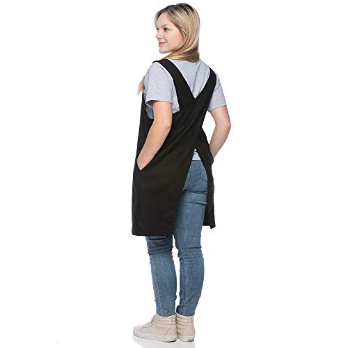 SMN Goods Premium Soft Cotton/Linen Blend Apron