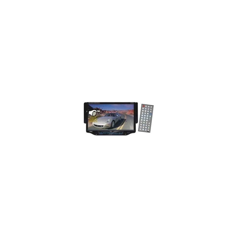 NEW 7 Single DIN TFT Touch Screen DVD//MP4/CD R/USB/SD/AM/FM/RDS Receiver (Car Audio & Video)