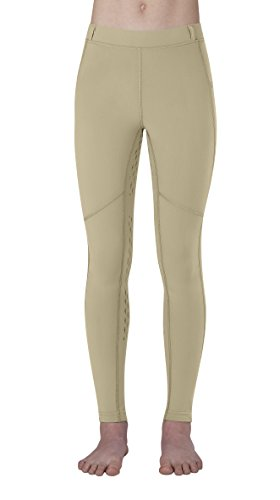Kerrits Kids Ice Fil Tech Tight (Tan, Small) Country Kids Nylon Tights
