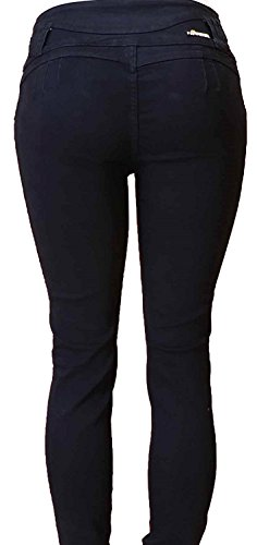 fa385b23999e Diamante Skinny Jeans Levanta Pompi Colombian Design Butt Lifter Women Denim  Jeans- Levantacola-Black