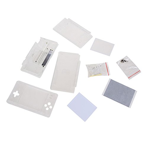 - Vanpower Replacement Crystal Clear Housing Shell for Nintendo DS Lite