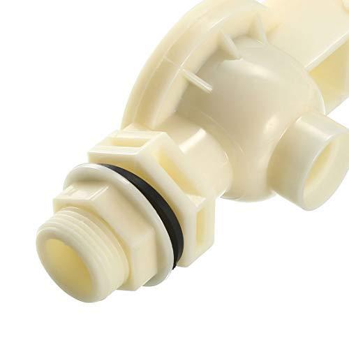 3//4 inch DN20 Water Float Valve Automatic Float Ball Valve Sensor for Water Tank Pump 80mm Diameter Ball