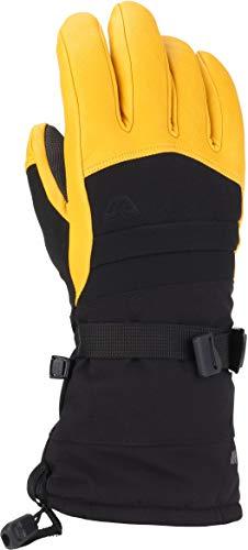 Gordini Men's Men's Polar Ii Waterproof Insulated Gloves, Black/Gold, XX-Large
