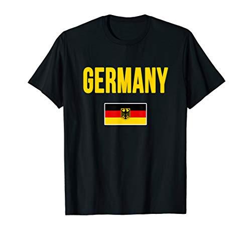 Germany T-shirt German Flag Gift Souvenir
