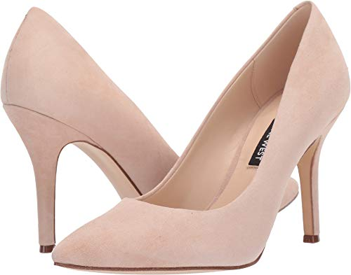 Nine West Womens Flax Pump Light Natural 10 M