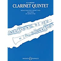 Image for Clarinet Quintet in A, K.581 (arr. Hyde)