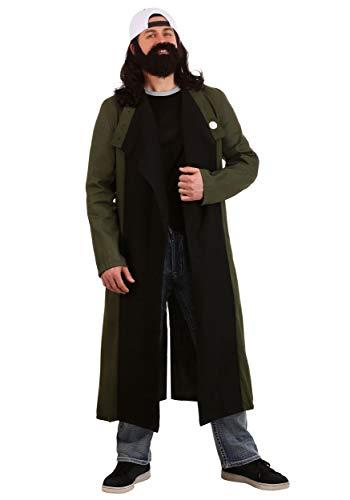 Silent Bob Costume (Fun Costumes Men's Silent Bob Costume X-Large)