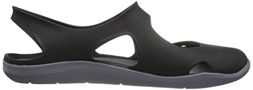Crocs Frauen Swiftwater Wave W Flat Schwarz