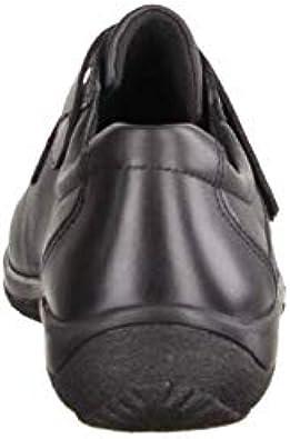 SLOWLIES Damen Slipper 422 Schwarz Slipper Damenschuhe Bequeme BallerinaSlipper, Schwarz, Leder (Nappa) schwarz 224809