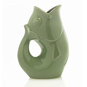 green ceramic pitchers - 1