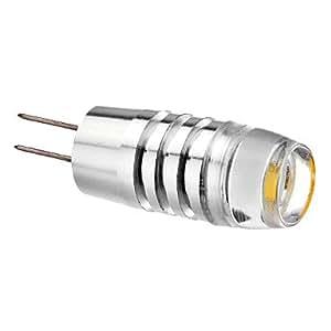 Leedfsw G4 1.5W 3-LED 70-80LM 2800K Warm White Light LED Spot Bulb (AC/DC9-24V)