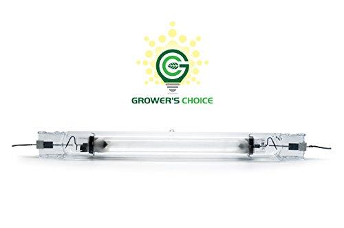 GROWERS CHOICE DE MH Double Ended Metal Halide Grow Light Lamp (4K), 1000W