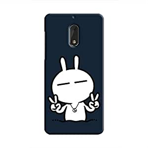 Cover It Up - Peace Tsuki Nokia 6 Hard Case