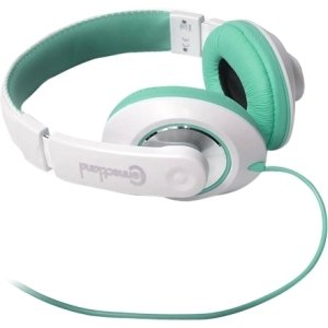 Syba Multimedia, Inc - Syba Multimedia Tbinaural Design Teal/White Headset - Stereo - Teal, White - Mini-Phone - Wired - 32 Ohm - 20 Hz - 20 Khz - Over-The-Head - Earset Cable