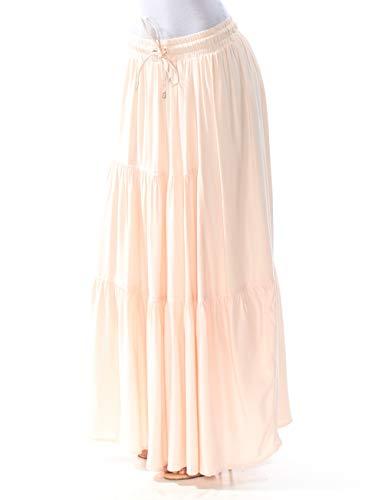 - DKNY $109 Womens New 1387 Pink Drawstring Maxi A-Line Skirt XS B+B