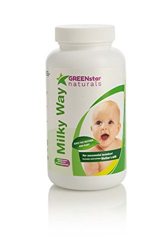 Milky Way Natural Breastfeeding Supplement for Lactation Support - Increase Breast Milk Supply & Flow for Nursing Mothers - Advanced Herbal Formula with Fenugreek (Womens Breast Health Formula)