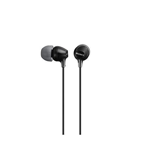Sony MDR-EX15LPB gesloten in-ear hoofdtelefoon Standaard 1 zwart
