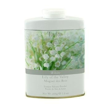 Taylor of London Lily of the Valley Luxury Talcum Powder, 7.0 Oz by Taylor of London