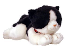 Keel Toys Jinx Laying Cat Soft