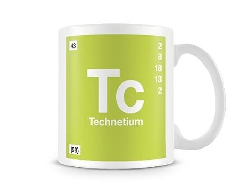 Periodic table of elements 43 tc technetium symbol mug amazon periodic table of elements 43 tc technetium symbol mug urtaz Images
