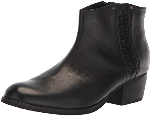 Clarks Women's Maypearl Fawn Fashion Boot, Black Leather, 10 M US