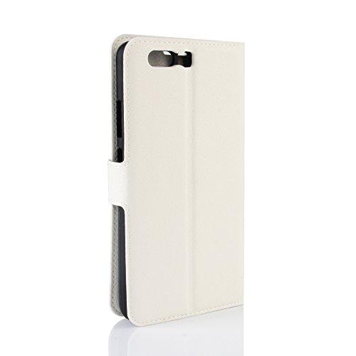 Manyip Funda Huawei P10 Plus,Caja del teléfono del cuero,Protector de Pantalla de Slim Case Estilo Billetera con Ranuras para Tarjetas, Soporte Plegable, Cierre Magnético(JFC5-17) A